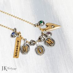 Remind your mom how special she is with this great customizable necklace!
