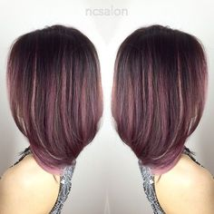 Image result for rose gold balayage on dark brown hair