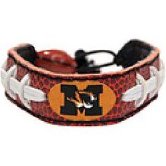 Gamewear Missouri Tigers Authentic Football Bracelet