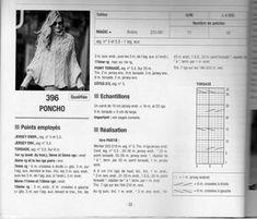 les explications de poncho 396 de Bergère de France 2011/2012 - mamie jeannette tricote mais pas que ...... Personalized Items, Coke, Scarfs, Patterns, Knitting, Crochet, Knitted Baby Clothes, Crochet Batwing Tops, Hand Knitting