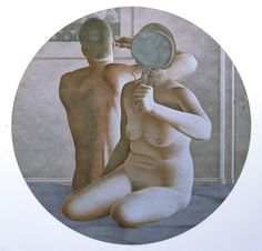 View MORNING By Alex Colville; 21 x 22 in — x cm; Access more artwork lots and estimated & realized auction prices on MutualArt. Alex Colville, Canadian Artists, New Artists, Toronto, Art Gallery Of Ontario, 24. August, Magic Realism, Art Archive, Drawings