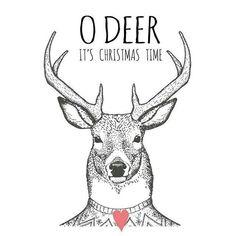 Oh Deer it's Christmas time Christmas Deer, Christmas Quotes, Christmas Design, Winter Christmas, All Things Christmas, Christmas Crafts, Merry Christmas, Christmas Decorations, Christmas Makeup