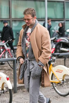 Fashion Week Street Style: Soft and Cozy Camel