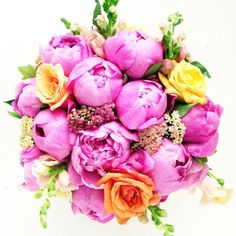 """""""The spring trends this year are leaning towards color, texture, scent, and simplicity. The bright pop of color is brought in using poppies, ranunculus, and tulips — and as spring progresses, more vibrant blooms are added to the mix, such as peonies, snapdragon, celosia, sunflower, delphinium, and lisianthus. Along with color, texture is also an ever-present part of floral design."""