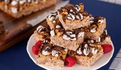 ...Toasted Marshmallow Smore Bars - In the Kitchen with Stefano Faita
