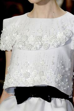 ♔ Chanel Haute Couture Spring 2009