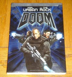 The Rock Doom Unrated Extended Edition DVD New Sealed in Protective Plastic