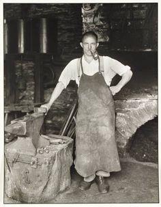Blacksmith, c. 1930  August Sander