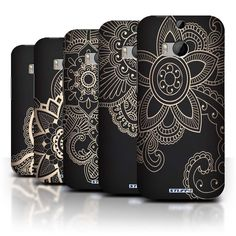 Collection:Henna Tattoo. Compatible With:HTC One/1 M8. 1 x Protective Case carrying a design from the Henna Tattoo collection. This case is designed specifically for the HTC One/1 M8. Protect your HTC One/1 M8 with these protective designer cases. | eBay!