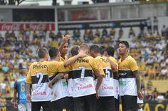 Técnico Luizinho celebra fim de jejum de 10 jogos do Criciúma sem vitórias +http://brml.co/1zJ1Vhd