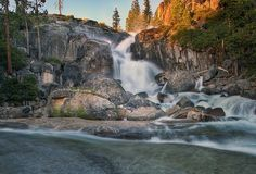 Want to get out of the city for a mini day trip? Why not check out some of the amazing Northern California waterfalls. Sacramento California, California Travel, Northern California, California Living, Hiking Places, Hiking Spots, Waterfall Hikes, Waterfall Cards, Travel Nursing