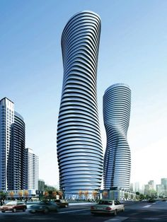 Absolute World condos Mississauga by Cityzen, Fernbrook Homes and MAD architects