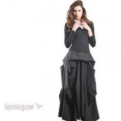 Дълга рокля с разчупена линия - от La Speciale | Онлайн маркови дамски дрехи, мъжки дрехи и дамски обувки. Online магазин за маркови рокли, ...
