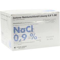 ISOTONE NaCl Lösung 0,9 prozent BC Plast.AmpulleInjektionslösung:   Packungsinhalt: 20X10 ml Injektionslösung PZN: 02337169 Hersteller:…