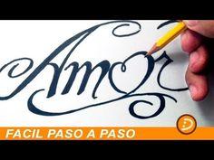 DIBUJOS DE AMOR A LAPIZ FACILES DE HACER PASO A PASO PARA MI NOVIA - YouTube