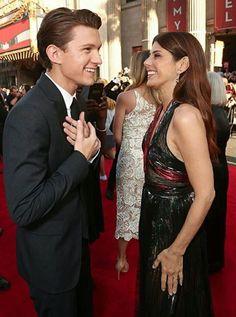 Tom Holland & Marisa Tomei