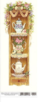 C Tee Kunst, Diy And Crafts, Paper Crafts, Country Paintings, Tea Art, Country Art, Kitchen Art, Vintage Tea, Belle Photo