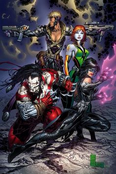 Cyber Force by Marc Silvestri (Image/Top Cow comics)