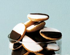 Image result for Black-and-white cookies food in new york