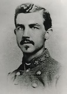 Confederate Brigadier General Thomas Benton Smith from Tennessee was known for his southern charm. His staff officers often begged him to share the many pretty women who were attracted to him because of his good looks and southern charm. All that would come to an end at the Battle of Nashville when he was struck over the head by a sword after surrendering. He would spend the next 47 years in an insane asylum.