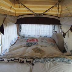 Sprinter Ideas: Retro fit some curtains with easy-to-slide rings?