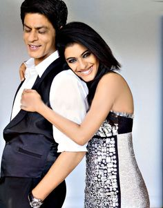 SRK and Kajol in Vogue #Bollywood #SRK #Shahrukh #Kajol