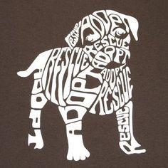 Rescue Dog Tshirt