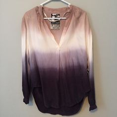 Young Fabulous & Broke Long Sleeve Top Size Small Brand new with tags, Young Fabulous & Broke long sleeve v-neck blouse top. Size small. Excellent condition, never worn. Super soft top with slight high low hem. 60% Cupro 40% Rayon. Gorgeous top, just haven't gotten around to wearing. Still debating whether or not I'm ready to let it go. Feel free to make an offer! Young Fabulous & Broke Tops