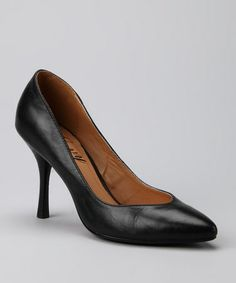 Take a look at this Black Bazza Pump by Envy on #zulily today!