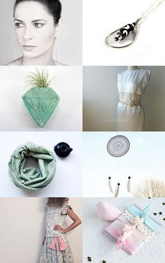 Some Mint by Georgia on Etsy--Pinned with TreasuryPin.com