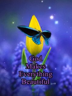 God makes all things beautiful, in His time. Good Morning Gif Funny, Good Morning Posters, Funny Good Night Quotes, Good Morning Picture, Morning Pictures, Good Morning Images, Good Morning Quotes, Good Morning Messages Friends, Morning Greetings Quotes