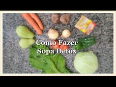 DIY - Sopa Detox - Emagrece até 3 kg em 1 semana / Dilni Moraes - YouTube