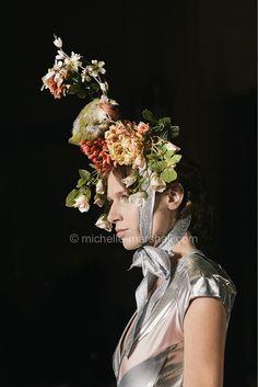 #pamhogg #ss14 #LFW #londonfashionweek #headdress #still #life #floral