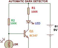 day night automatic triac switch circuit | BASIC ELECTRONICS ...