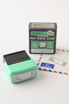 To/From Self Inking Stamp - Adorable.
