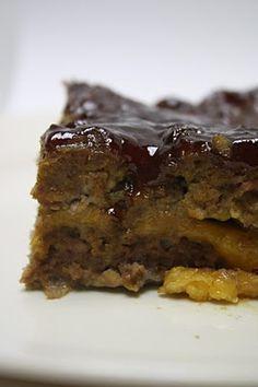 Mama's Cheddar BBQ Meatloaf