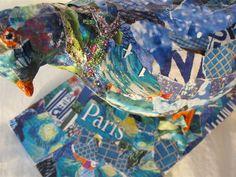 Bildresultat för torn paper collage Torn Paper, Collage, 3d, Collages, Collage Art, Colleges