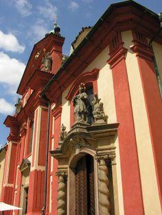 Entrance of the basilic of St.George, Prague, Czechia