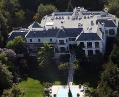 Michael Jackson's Holmby Hills Mansion $29,000,000