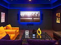 Excellent Image of Home Theater Room Design Ideas. Home Theater Room Design Ideas 25 Home Theater And Home Entertainment Setup Ideas Room Design Home Theater Room Design, Home Theater Setup, Home Theater Rooms, Home Theater Seating, Cinema Room, Movie Theater, Small Media Rooms, Media Room Design, Home Entertainment Centers