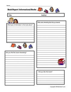Book Review Template Differentiated.pdf - Google Drive | TEACHING ...