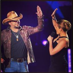 Twitter / Jason_Aldean: Had a blast hosting the CMT Music Awards with Kristin.