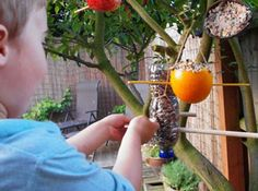 Have some family fun & make your own birdfeeder ready for the Big Garden #Birdwatch #RSPB #makeitmonday