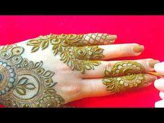 Arabic Bridal Mehndi Designs, Modern Henna Designs, Rose Mehndi Designs, Back Hand Mehndi Designs, Full Hand Mehndi Designs, Henna Art Designs, Mehndi Designs For Beginners, Mehndi Designs For Girls, Mehndi Design Photos