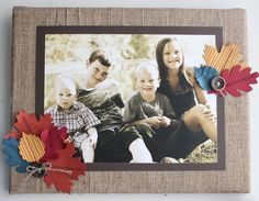 "Heather Summers: ""Fall has to be my favourite time of year—leaves are changing, crisp air is coming, perfect time for crafting—it doesn't get any better!  So this project is a reflection of my love for fall!"" http://www.facebook.com/photo.php?fbid=10151207677762512"