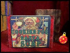 Cookies For Santa ~ Natural Soap, Candle & Lotion – Nature's Emporium Cherokee Soap Co.
