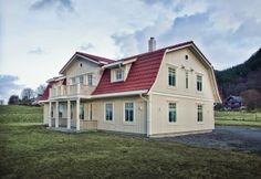 Holmgaard bygget av BoligPartner Ørsta Future House, House Ideas, Mansions, House Styles, Home Decor, Modern, Decoration Home, Manor Houses, Room Decor
