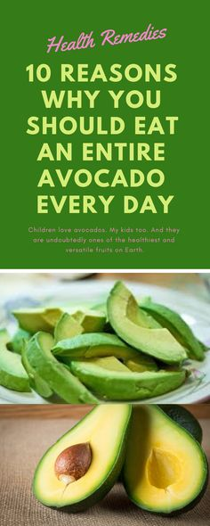 10 Reasons Why You Should Eat An Entire Avocado Every Day 10 Reasons Why You Should Eat An Entire Avocado Every Day Jenifer jeniferkeana Health benefits Children love avocados My kids nbsp hellip Benefits Of Avacado, Benefits Of Eating Avocado, Banana Benefits, Healthy Fats List, Healthy Eating Habits, Healthy Fruits, Healthy Foods, Avocado Dessert, Avocado Toast
