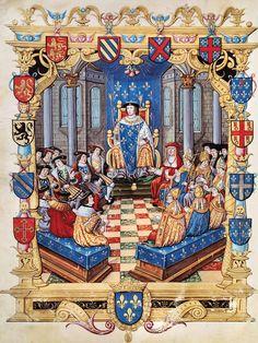 Le procès de Charles de Bourbon -  Registrum processus criminalis (1527) Français 5109, BnF