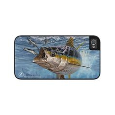 An attractive, traditional style tough case that consists of an outer hard plastic shell and a snap-in protective rubber bladder. Easier to grip and less likely to slip which is an added protection for your phone. Iphone 5s, Iphone Cases, Offshore Fishing, 5s Cases, Tuna, Yellow, Iphone Case, I Phone Cases, Atlantic Bluefin Tuna